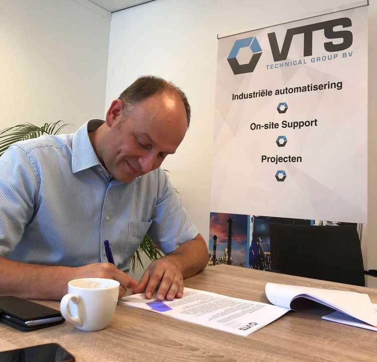 Bastiaan Tiecken commercieel directeur VTS Technical Group